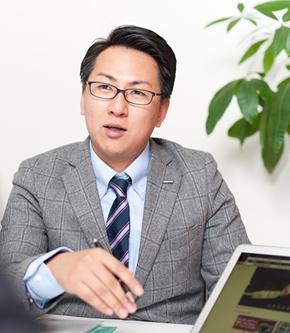取締役 不動産事業部 執行責任者 宅地建物取引士 釜田 晃利