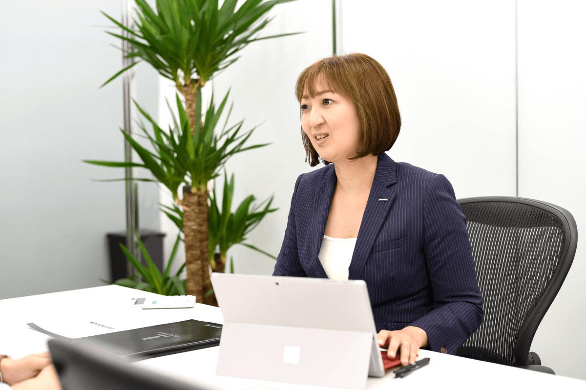 取締役 不動産投資コンサルタント 釜田 聖子